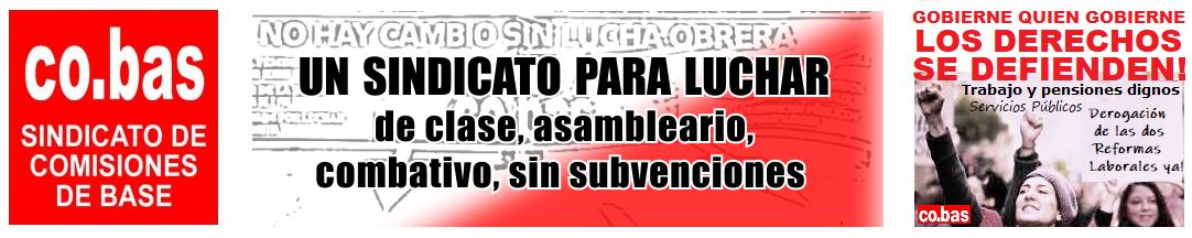 co.bas  – UN SINDICATO PARA LUCHAR